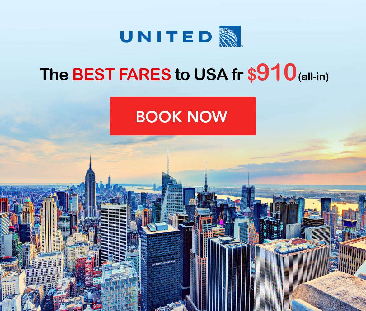 Great destinations at super low prices with United Airlines