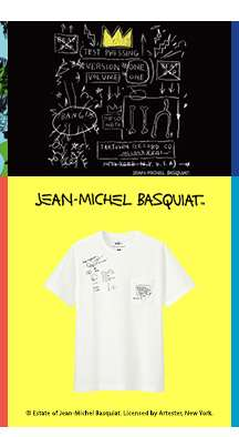 SPRZ NY Jean-Michel Basquiat UT Collection