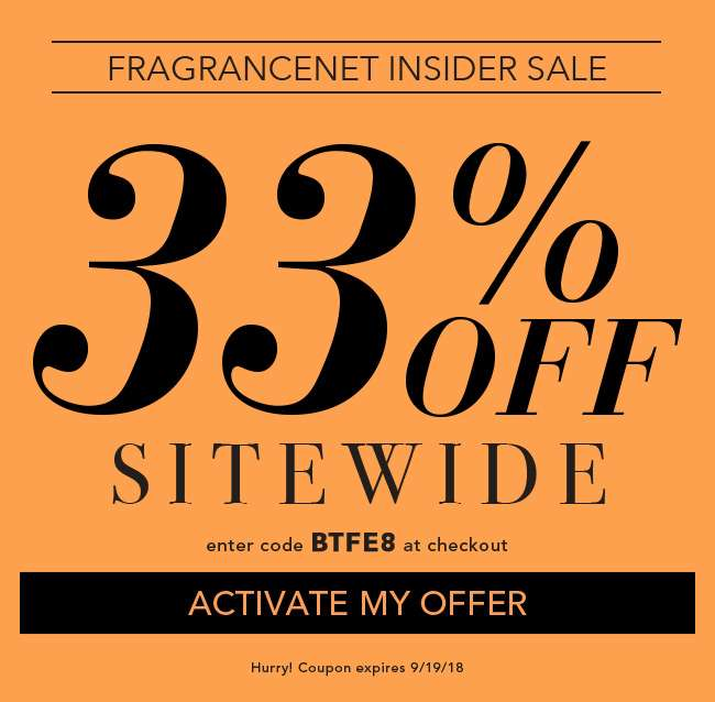 33% Off Sitewide