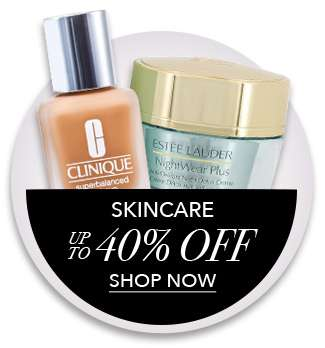 Shop Skincare up to 40% Off