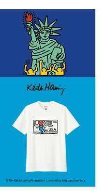 SPRZ NY Keith Haring UT Collection