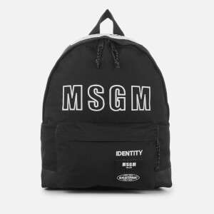 Eastpak x MSGM Padded Backpack - MSGM Black