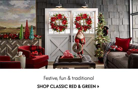 Shop Classic Red & Green