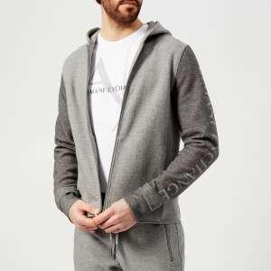 Armani Exchange Men's Zipped Hoody - Grey