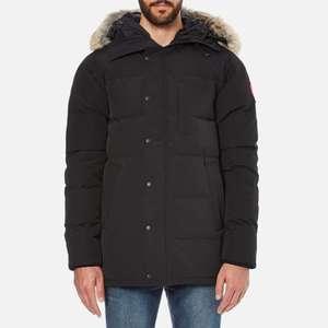 Canada Goose Men's Carson Parka Jacket - Black