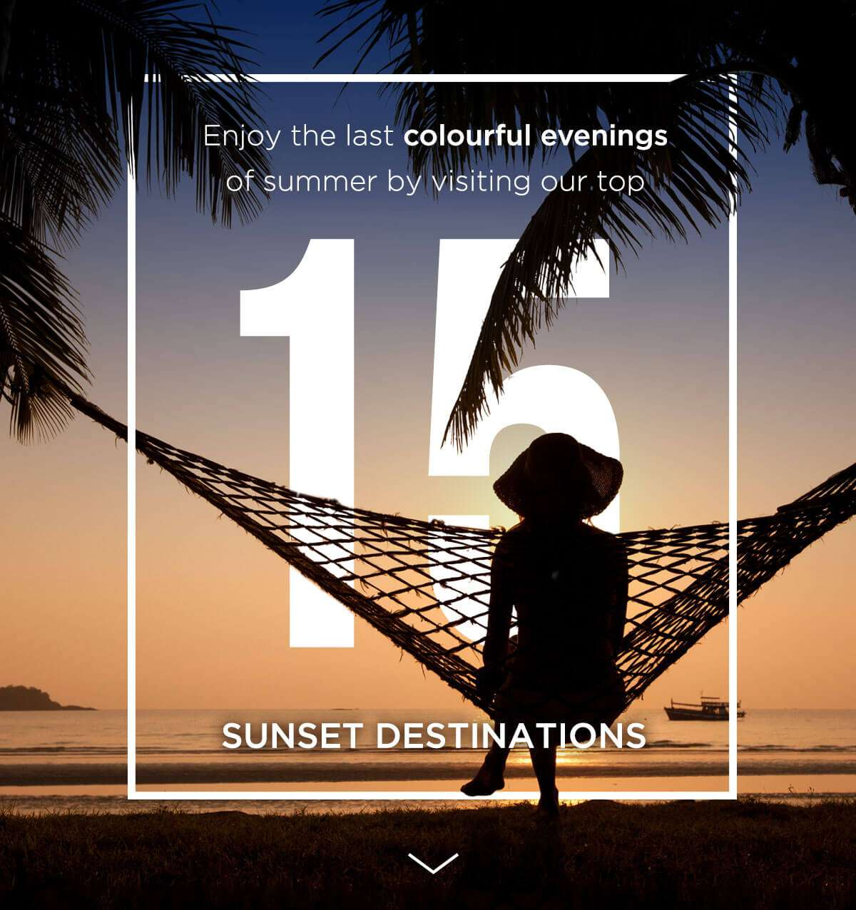 Check out our top 15 sunset destinations!