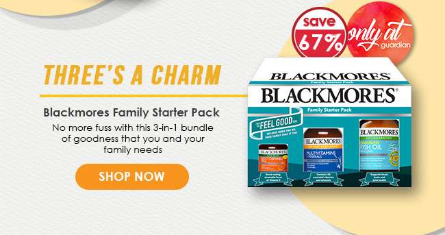 Click here to shop Blackmores Family Starter Pack!
