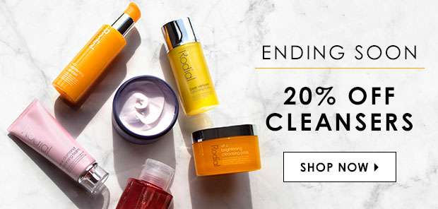 20% Off Cleansers
