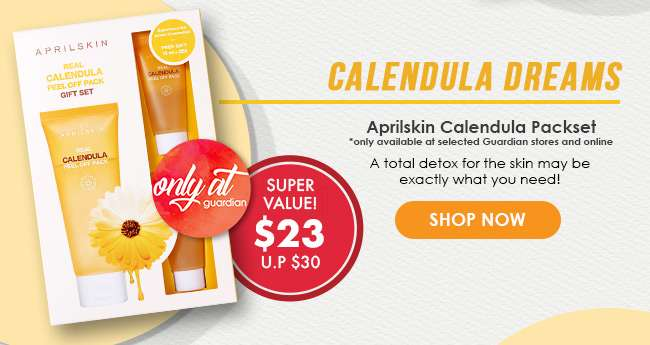 Click here to shop Aprilskin Calendula Packset!