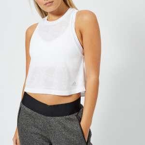 adidas Women's Aeroknit Tank Top - White