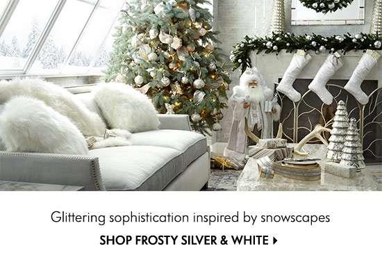 Shop Frosty Sliver & White