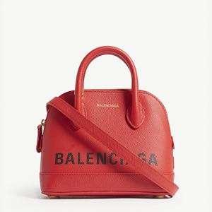 BALANCIAGA - Ville Top Handle XXS grained leather tote bag
