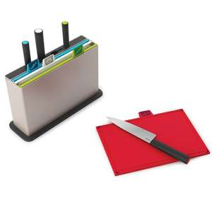 Joseph Joseph Index Chopping Board with Knives