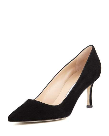 BB Suede 70mm Pump