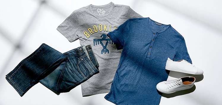 The Uniform: Jeans, Tees & Sneakers