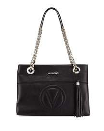 Valentino By Mario Valentino Karina Sauvage Leather Tote Bag