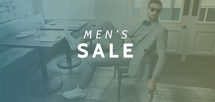 Up to 75% Off Men's Sale