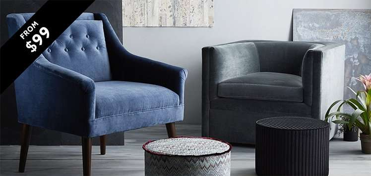 Chic Accent Chairs