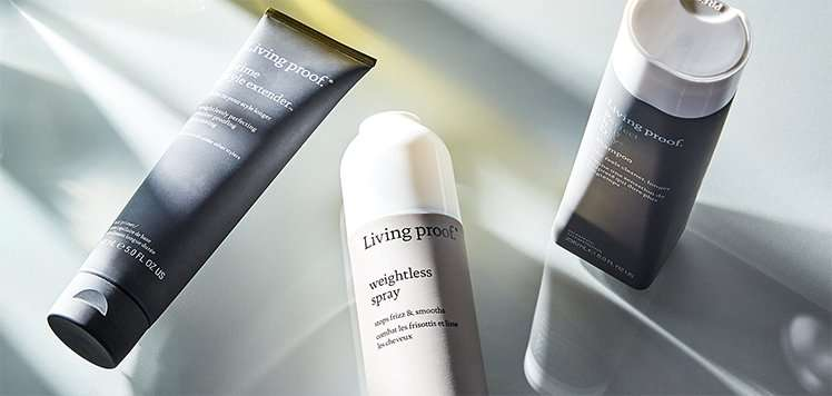 Haircare Heroes With Living Proof