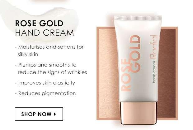 Rose Gold Hand Cream