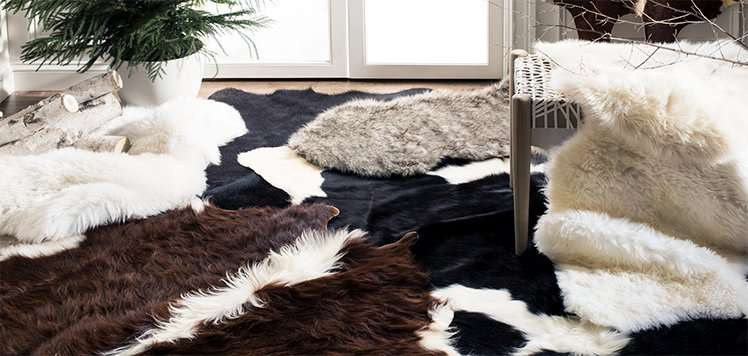 Cowhide & Sheepskin Rugs