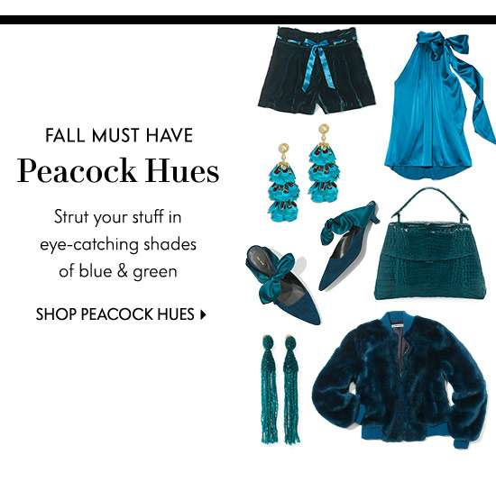Shop Peacock Hues