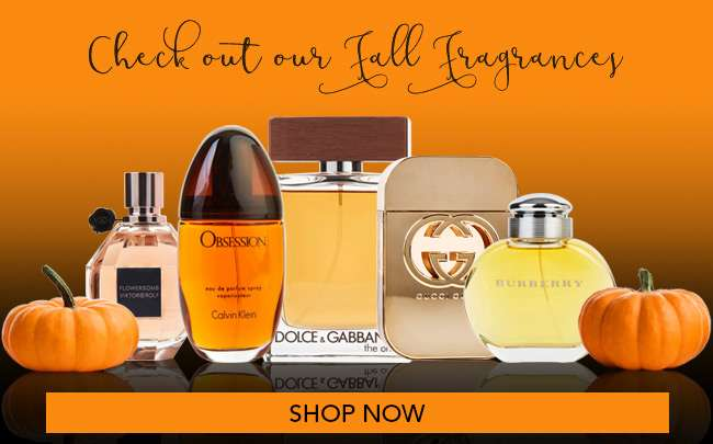 Check out our Fall Fragrances
