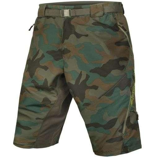 Endura Hummvee Camo II Shorts -with Liner