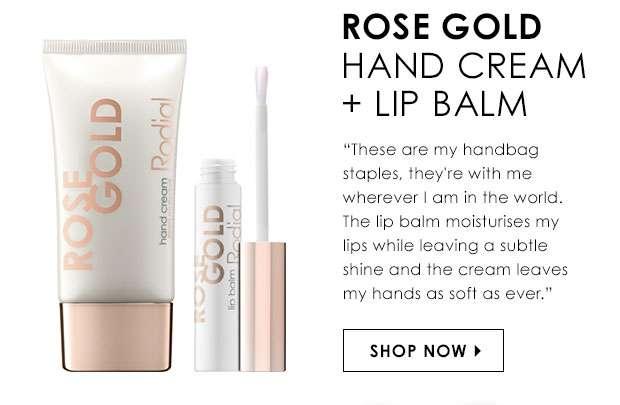 Rose Gold Hand Cream & Lip Balm