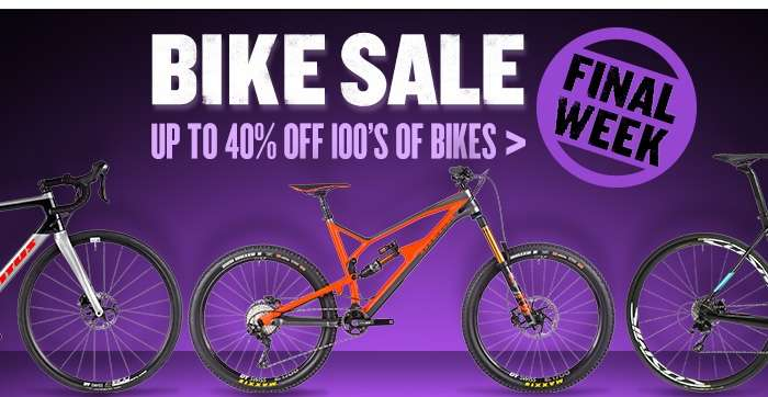 Bike Sale - Up to 40%