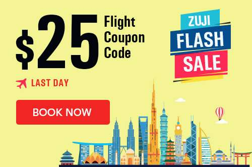 Get an additional $25 off your flight bookings