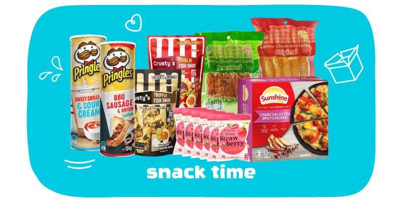 Snacks time