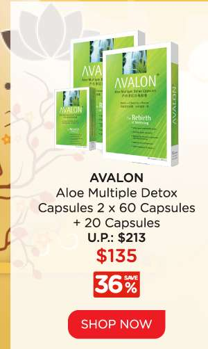Avalon Multiple Detox Capsules