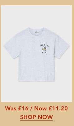 'Babes Who Brunch' Slogan T-Shirt