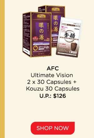 AFC Ultimate Vision Capsules + Kouzu Capsules