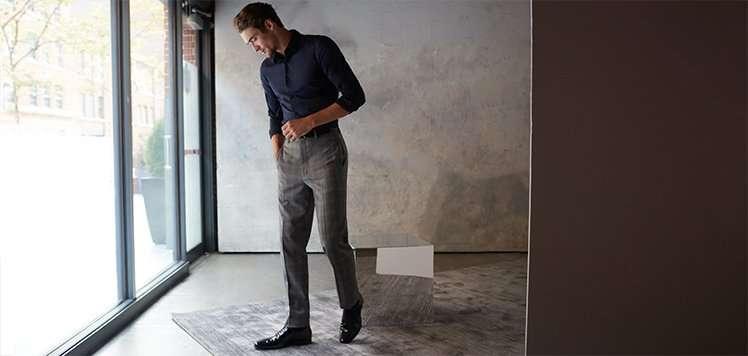 Trousers With Zanella