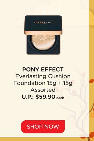 Pony Effect Everlasting Cushion Foundation