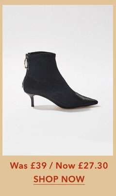 AMOR Satin Ankle Boots