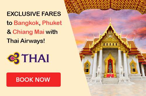 Smooth as silk getaways with Thai Airways