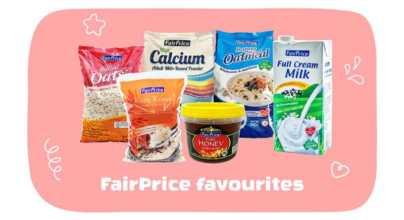 exclusively at FairPrice On