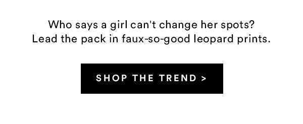 Leopard Print | Shop Now