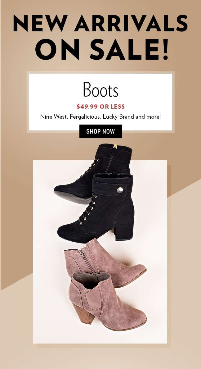 New Arrival- Boots