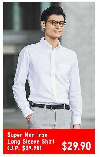 Super Non Iron Long Sleeve Shirt