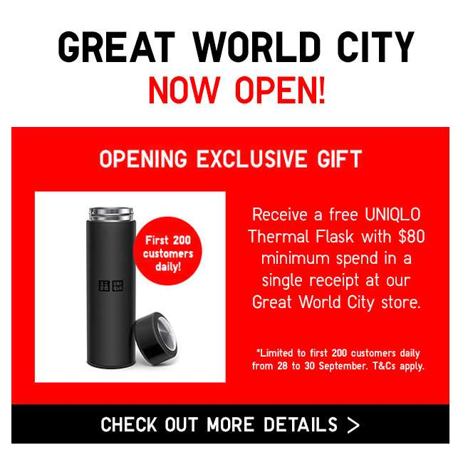Great World City Store Opening!
