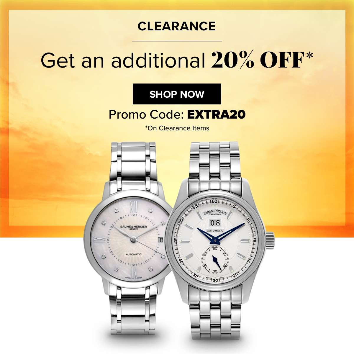Save up to 86% + Get additional 20% off SHOP NOW Promo Code: EXTRA20