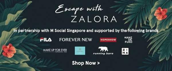 Escape with ZALORA