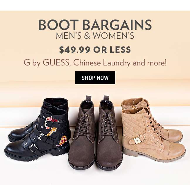 Shop Boots $49.99 or Less