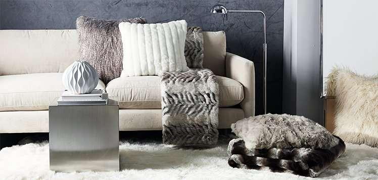 Cashmere & Faux-Fur Bedding