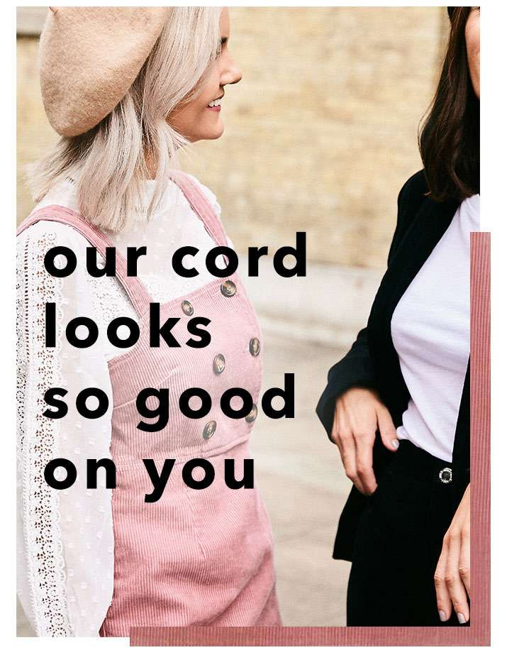 Our cord looks so good on you - Shop cord