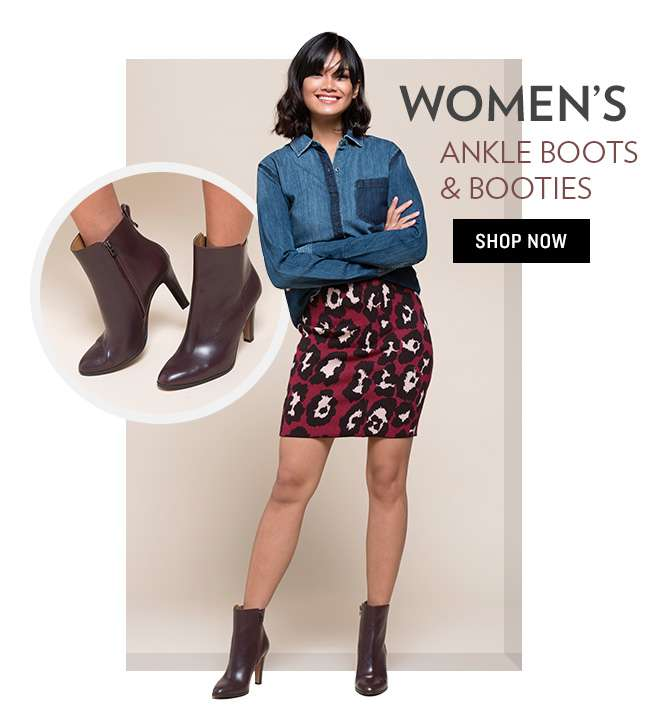 Shop Ankle Boots & Booties